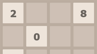 This 2048 simple but addictive combination numbers game.